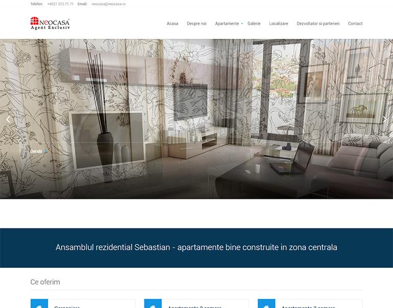 Site web Ansamblul rezidential Sebastian
