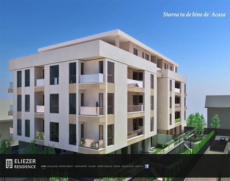 Site web Eliezer Residence