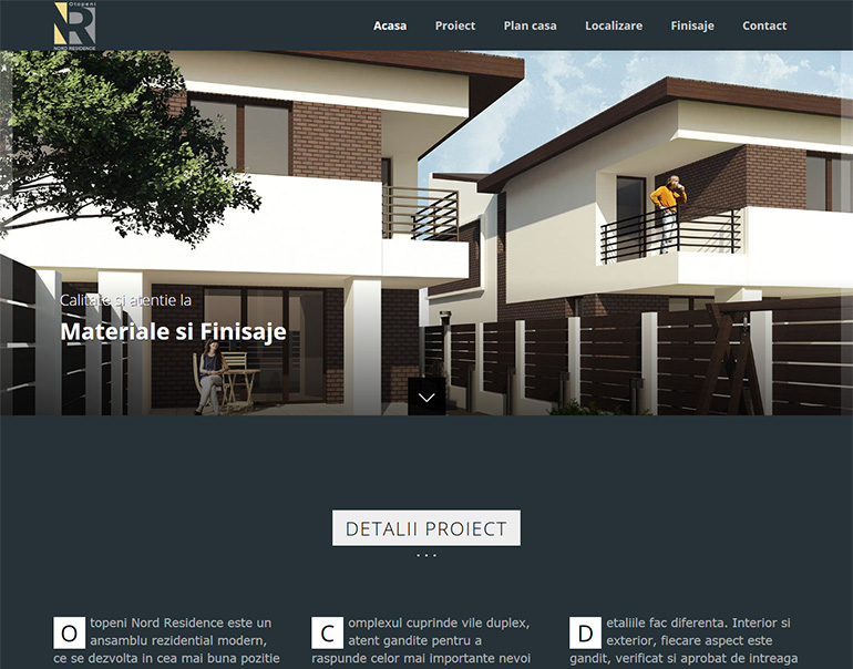 Site web Otopeni Nord Residence