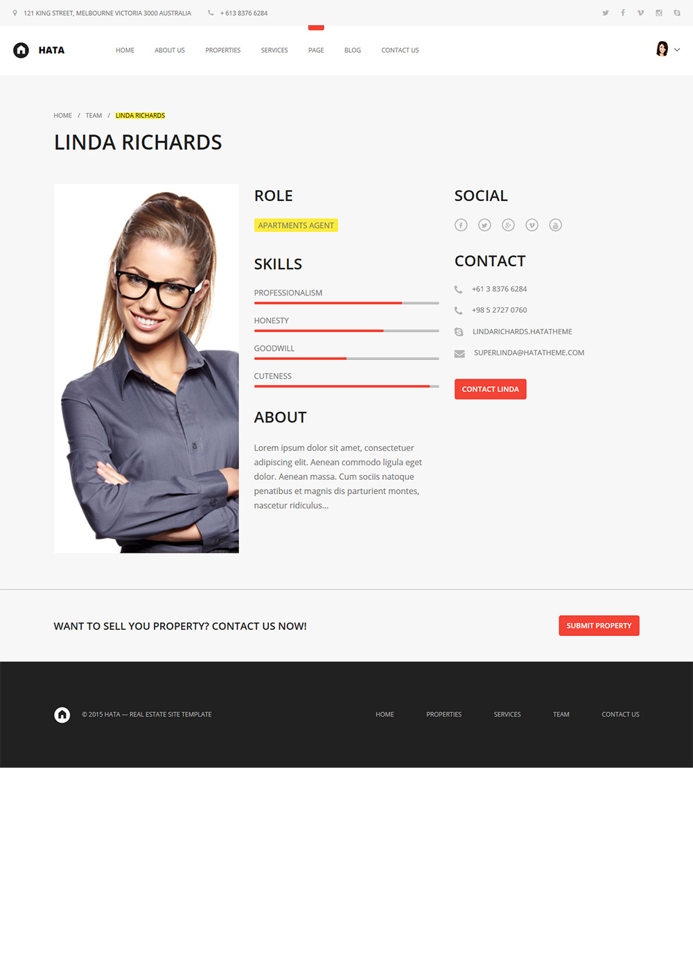Web Site Template 07