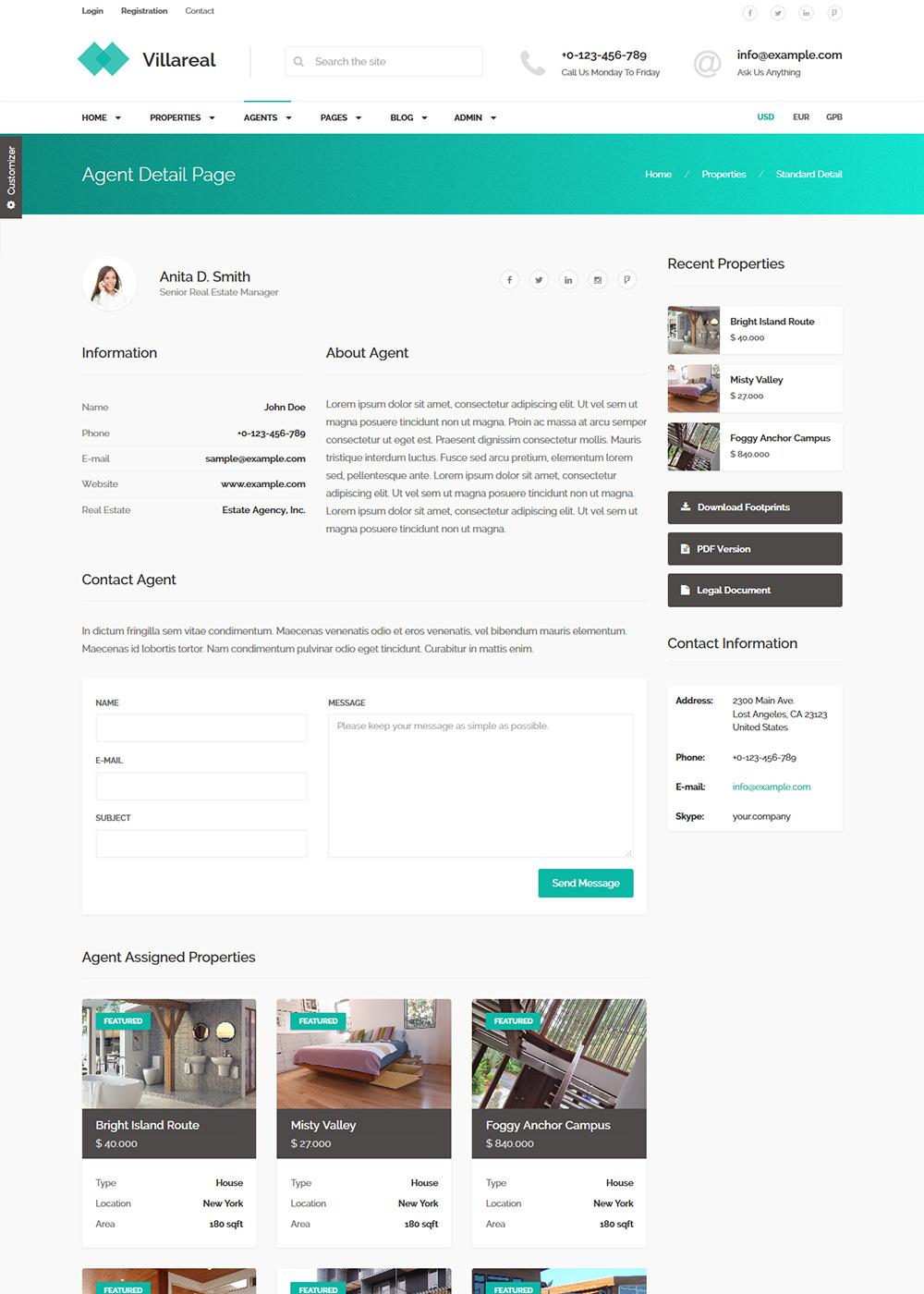 Web Site Template 08