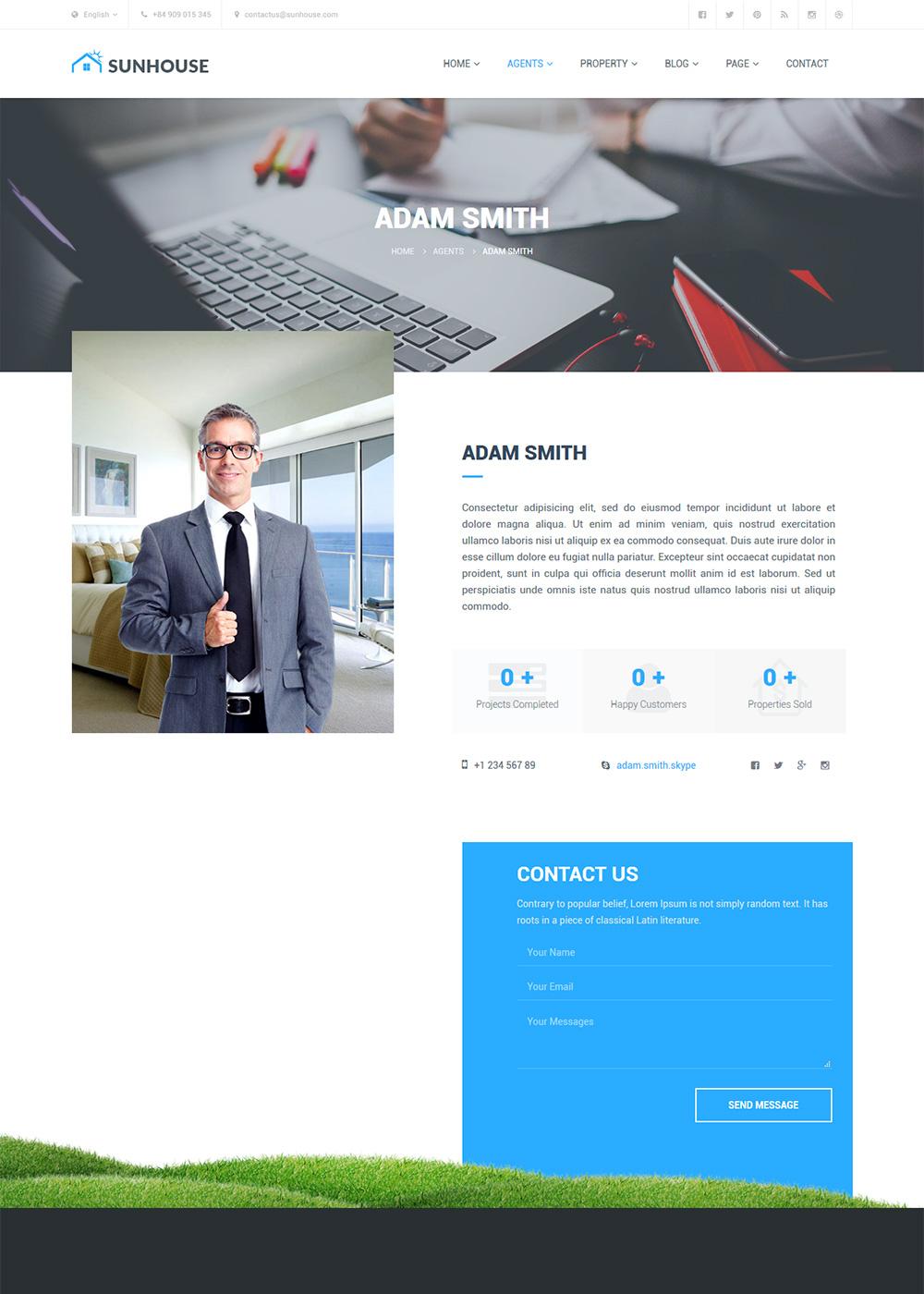 Web Site Template 12