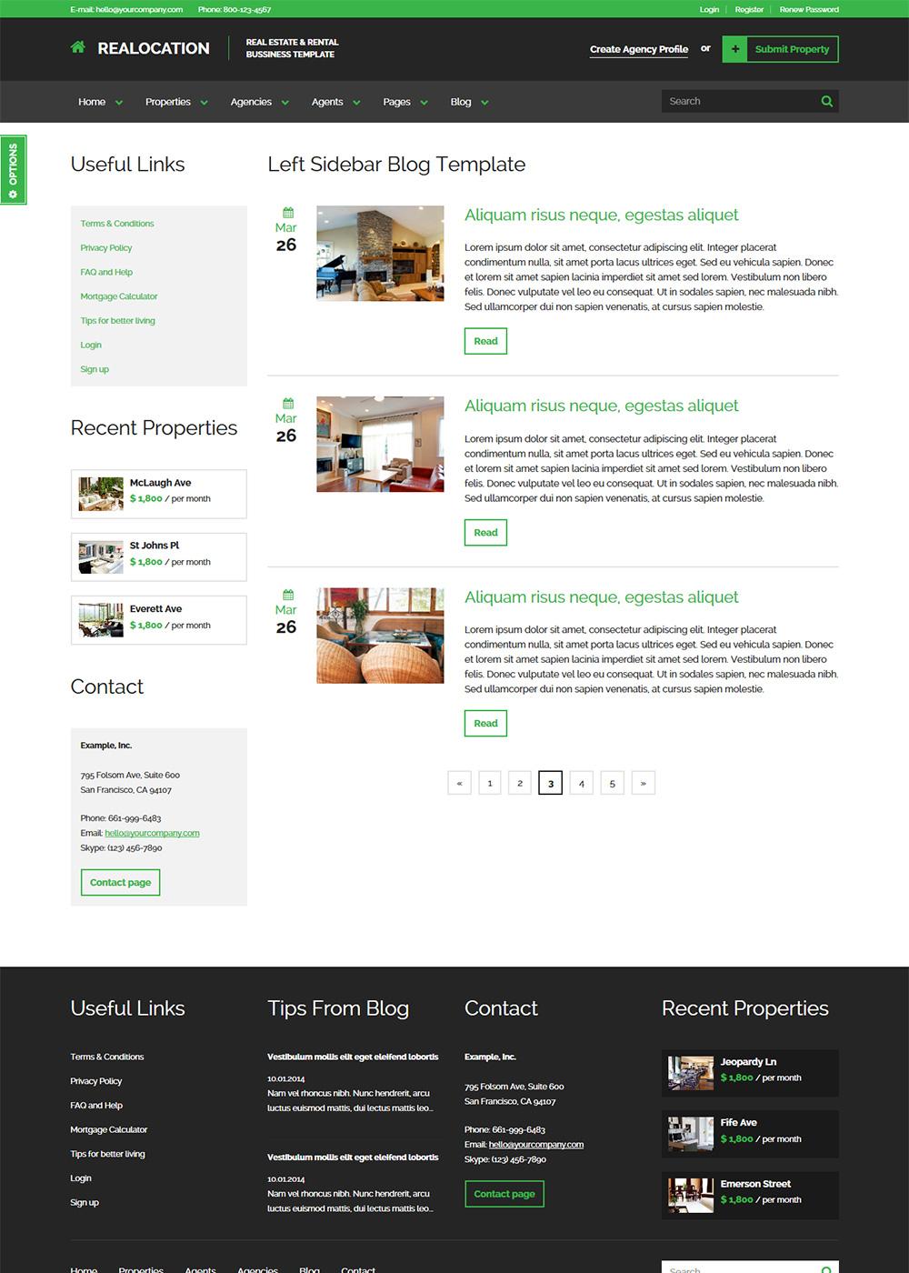 Web Site Template 13