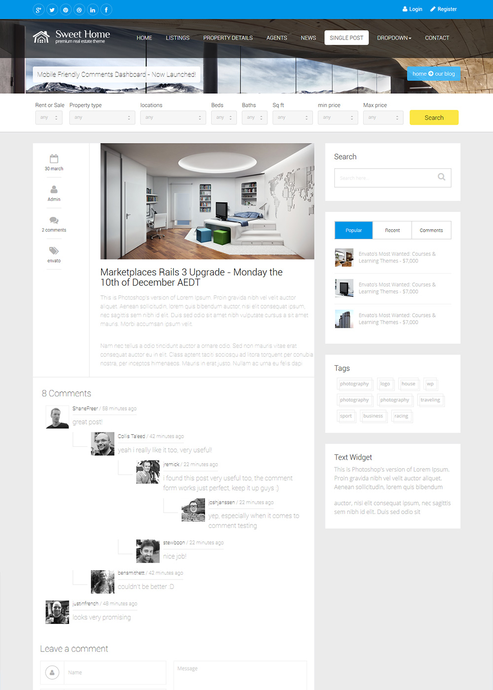Web Site Template 14