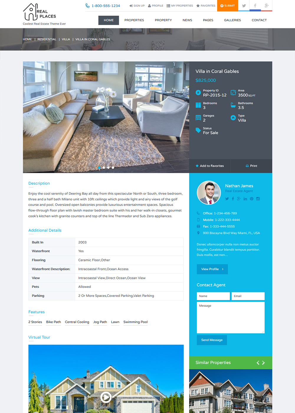 Web Site Template 15