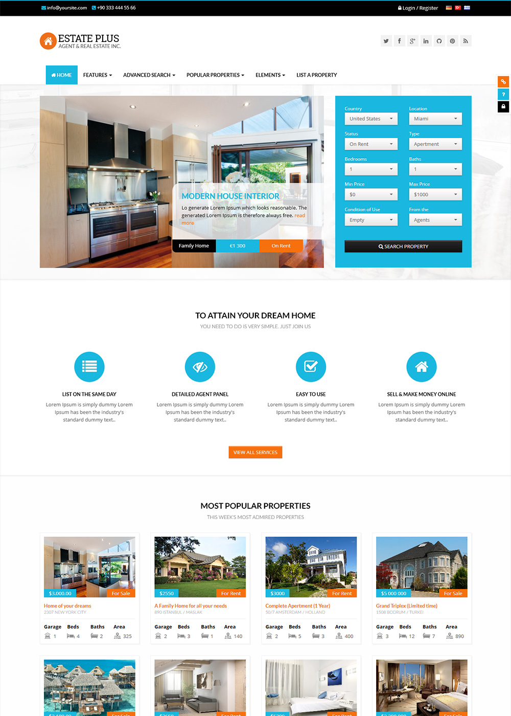 Web Site Template 17