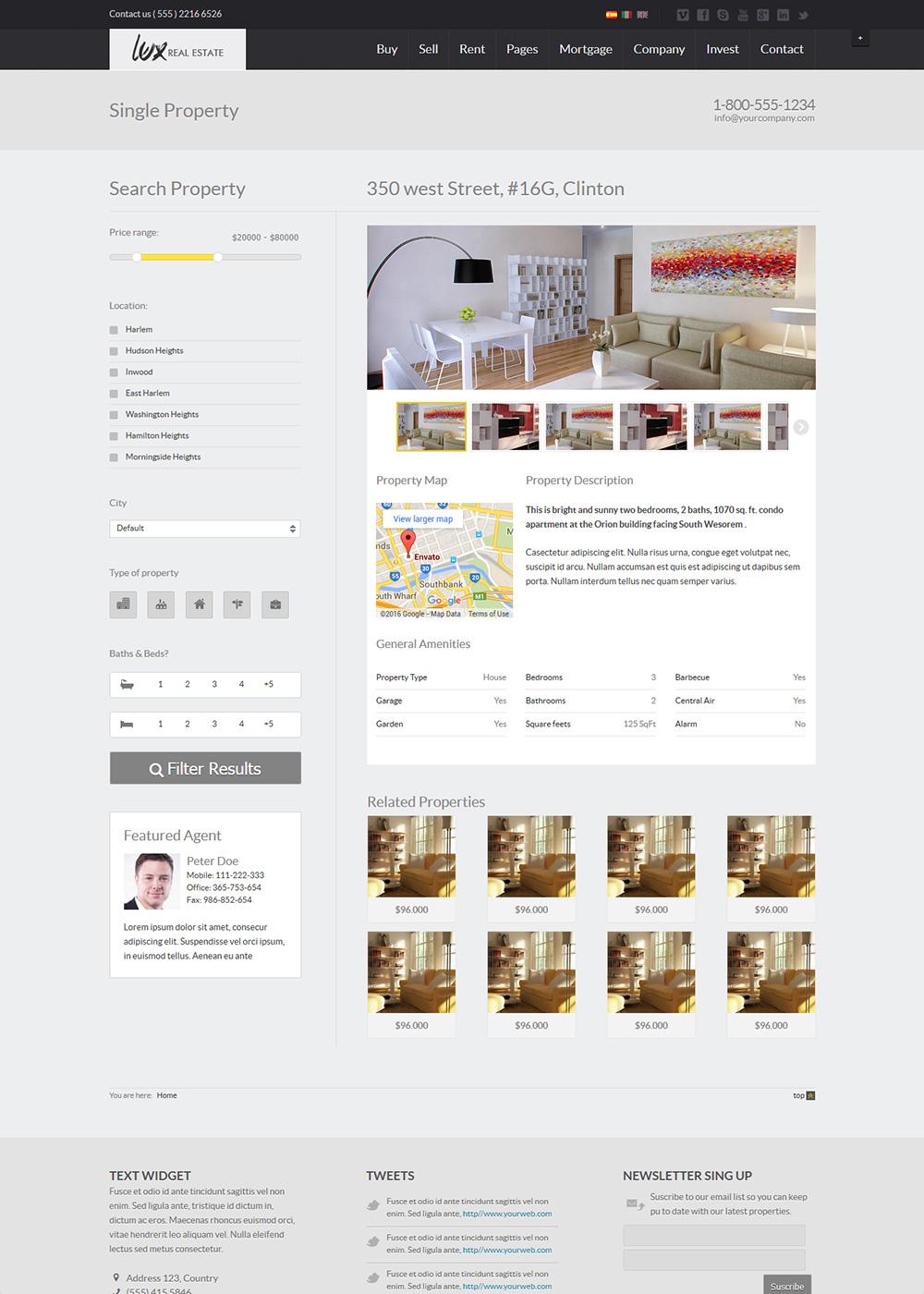 Web Site Template 18