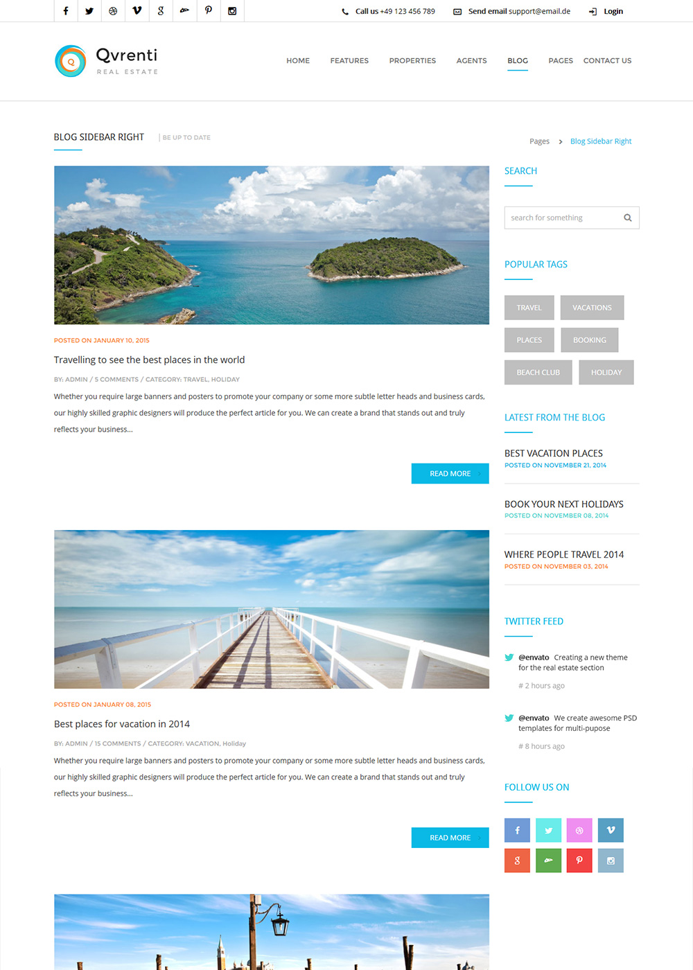 Web Site Template 21