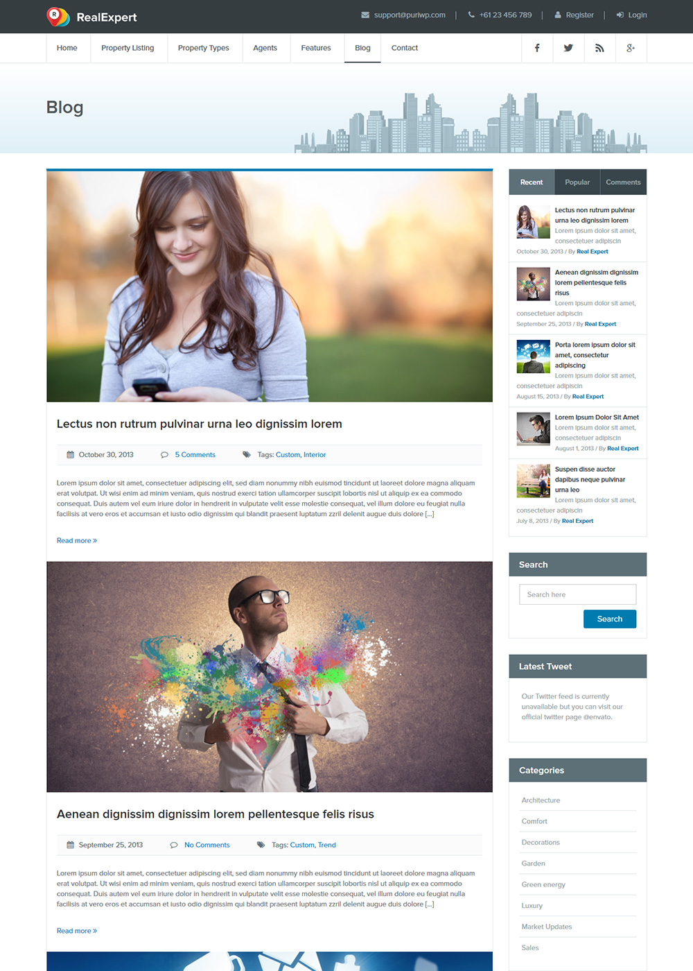 Web Site Template 23