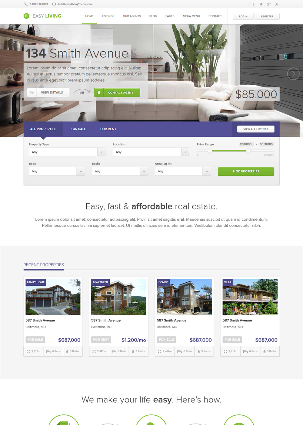 Web Site Template 26