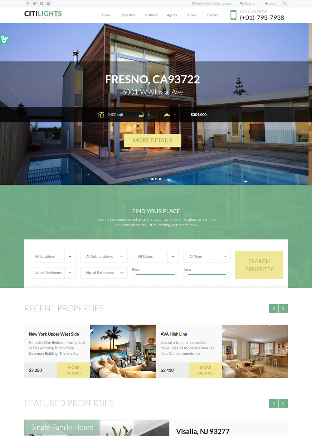 Web Site Template 27