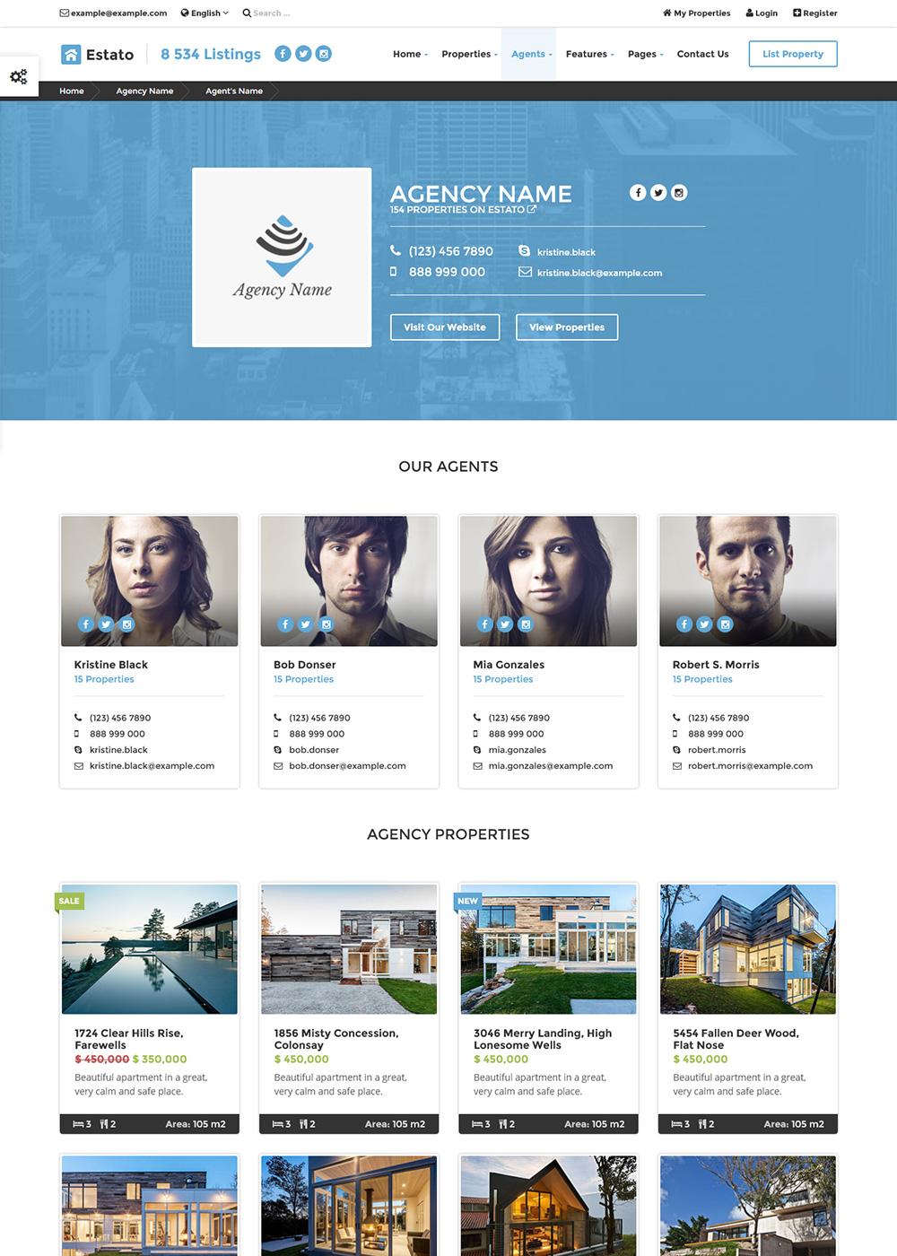 Web Site Template 28