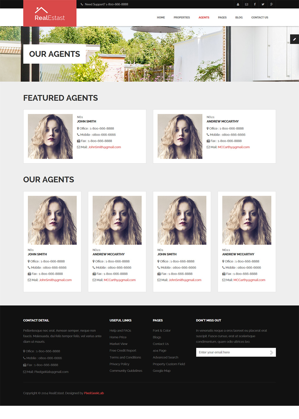 Web Site Template 30