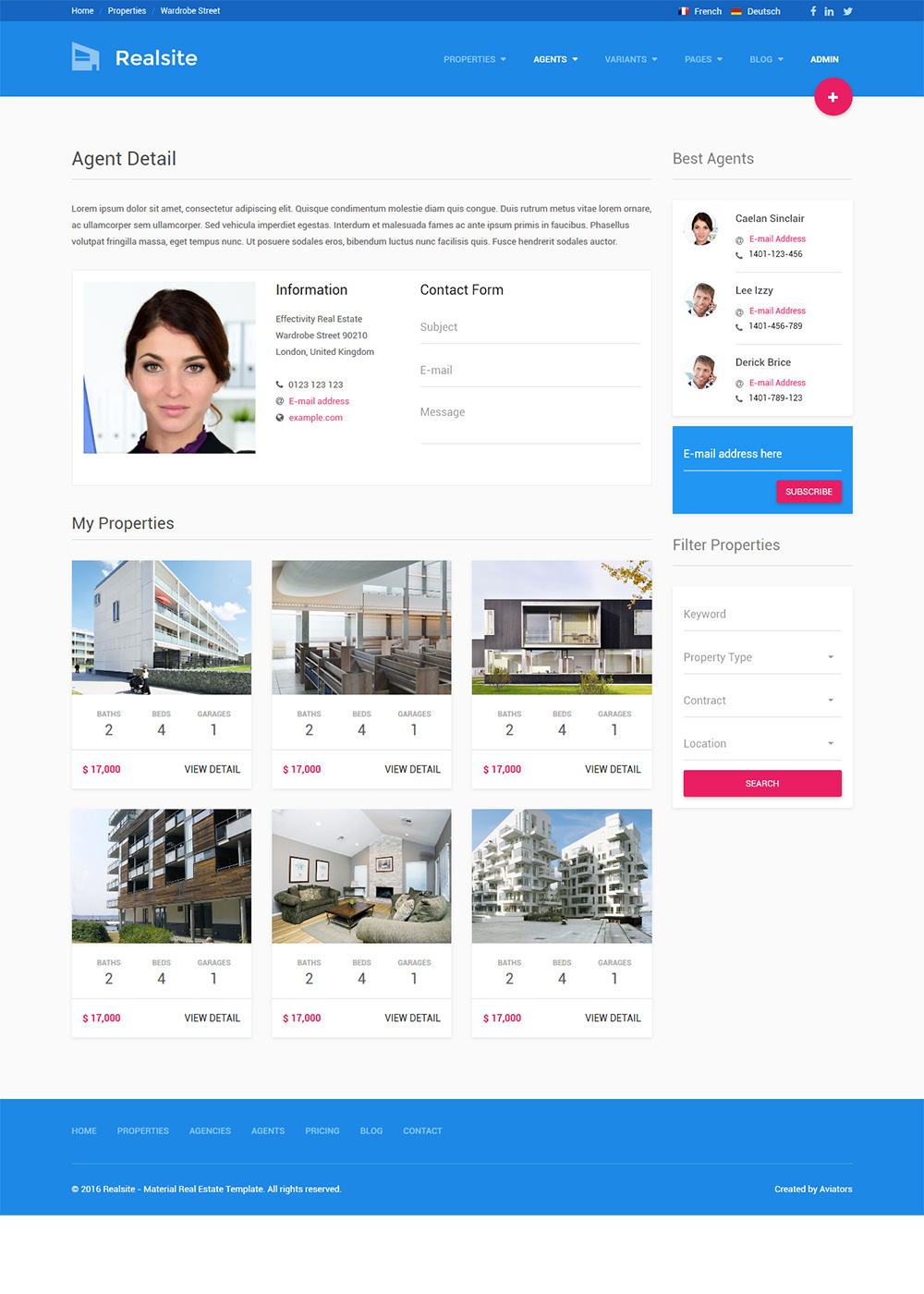Web Site Template 31