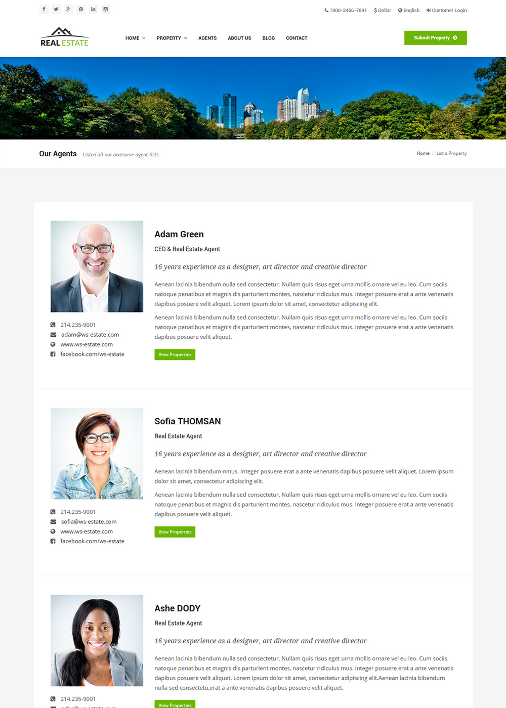 Web Site Template 34
