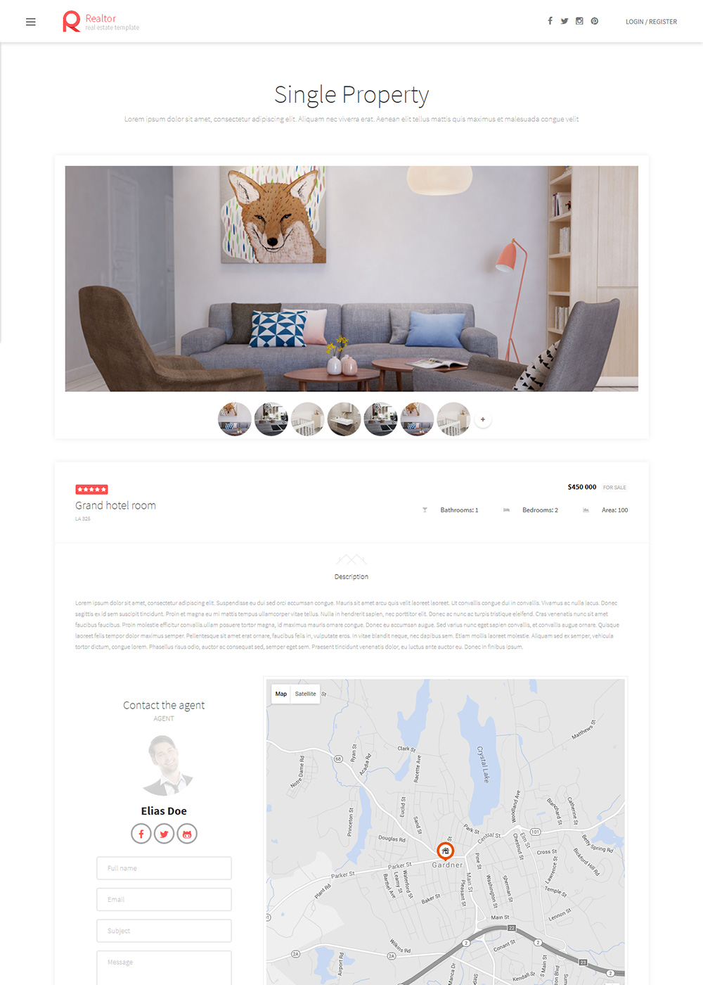 Web Site Template 36