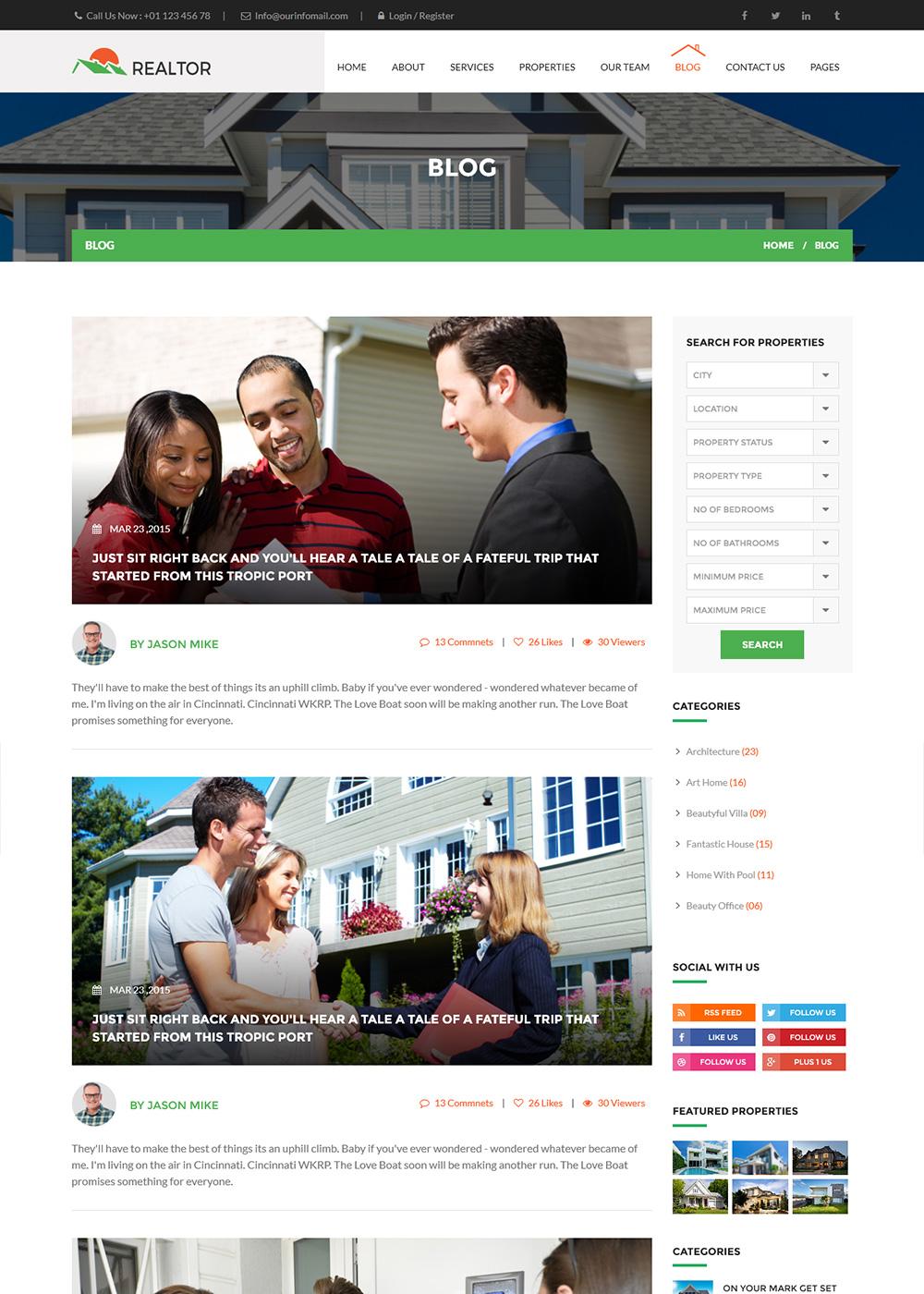 Web Site Template 37