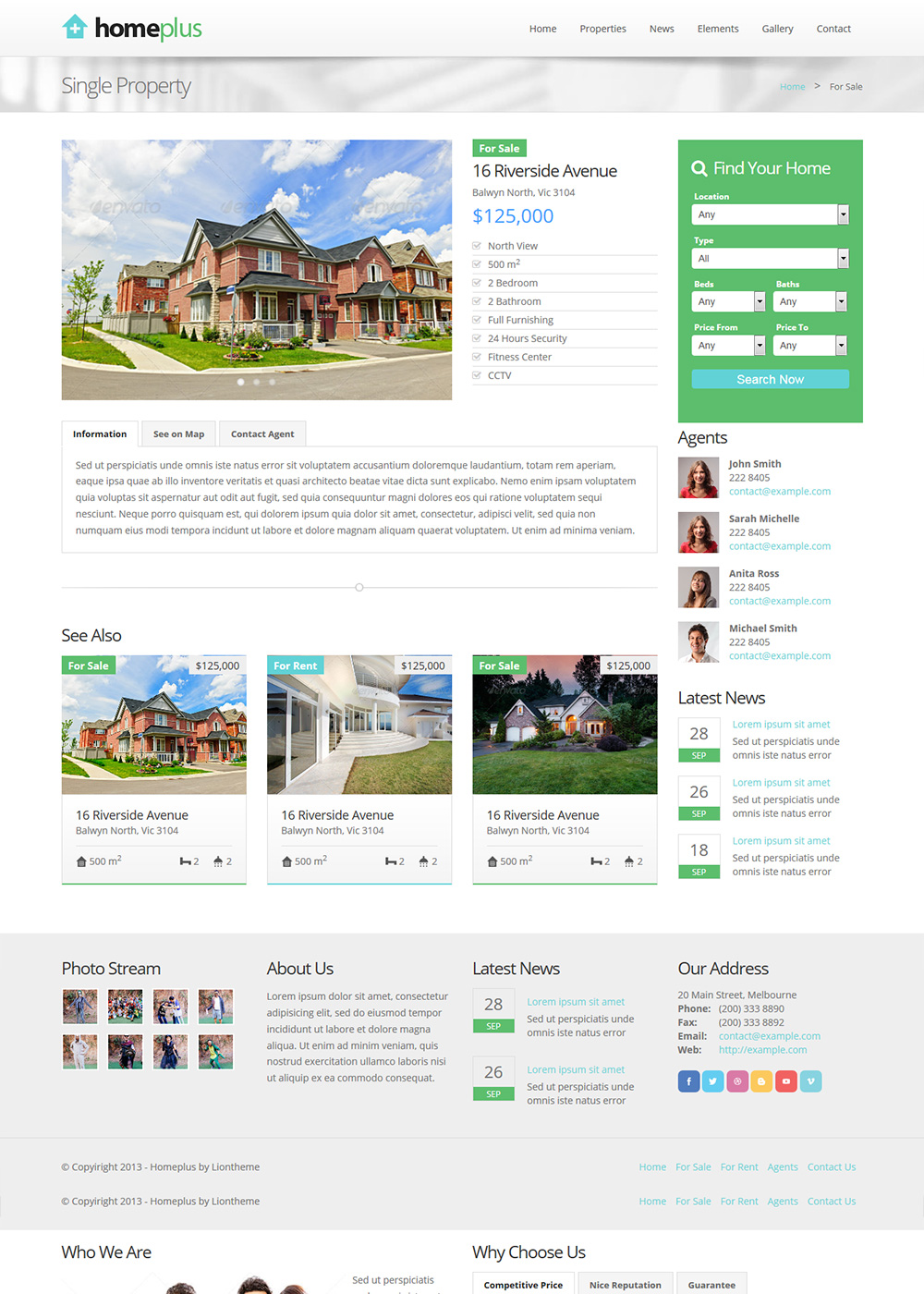 Web Site Template 39