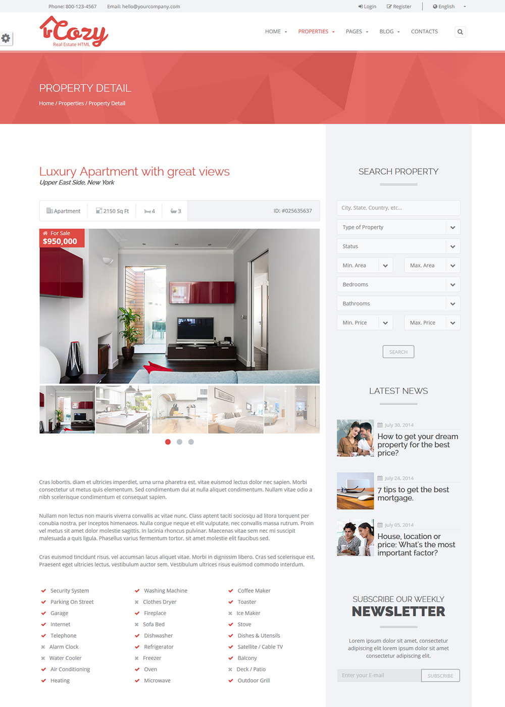 Web Site Template 40