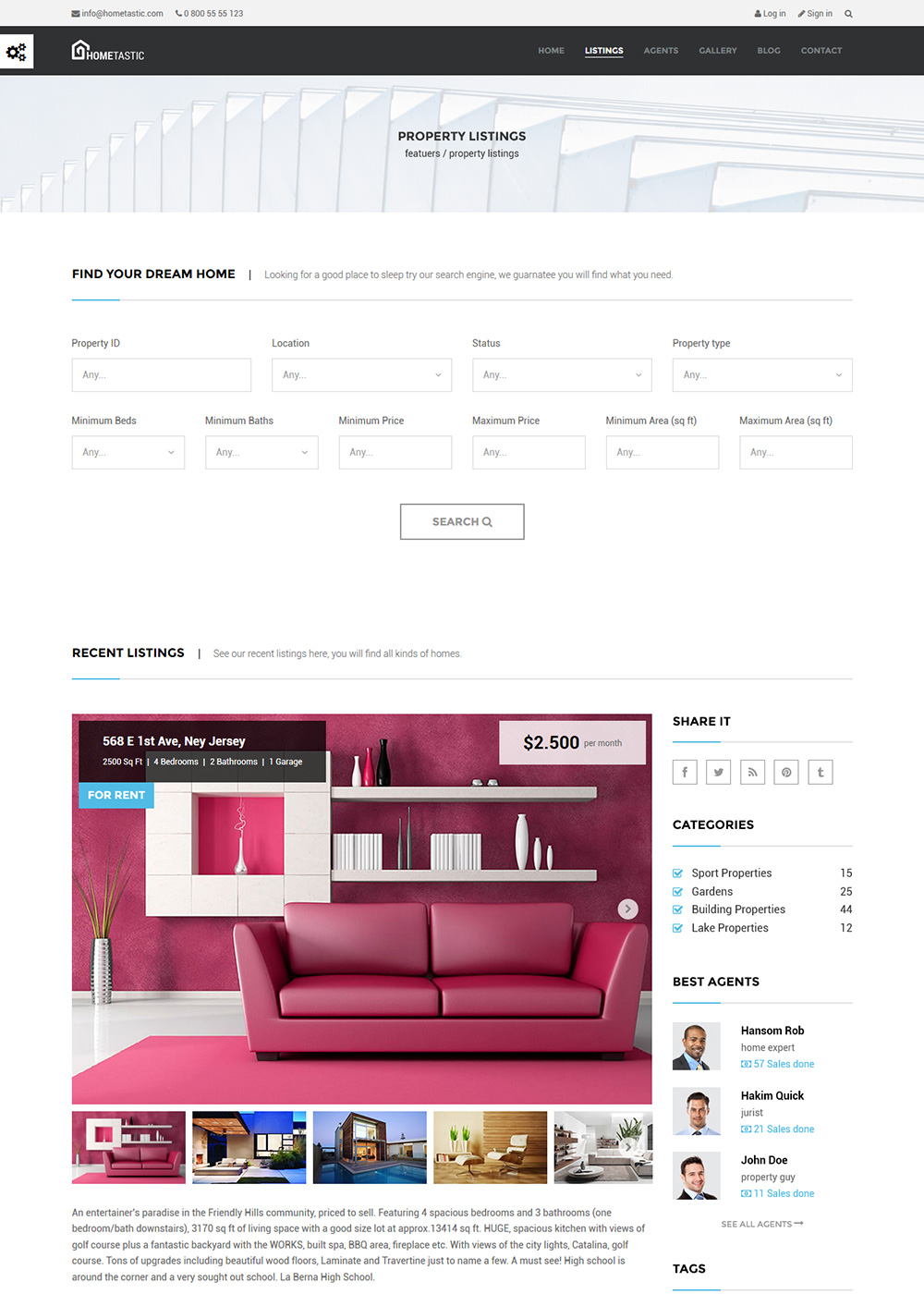 Web Site Template 42
