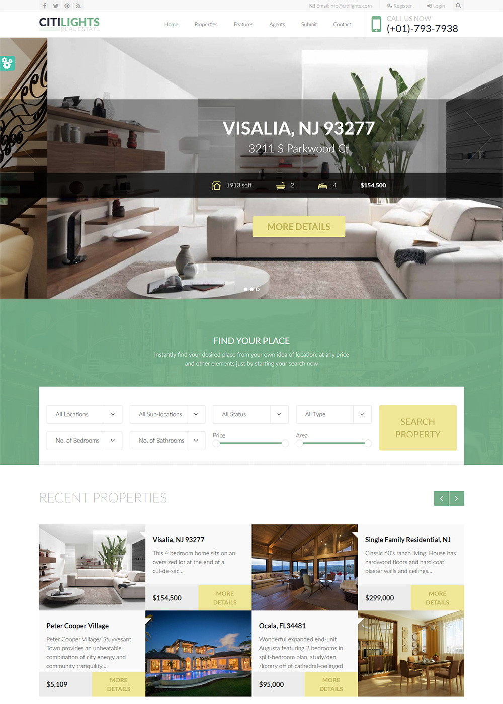 Web Site Template 43