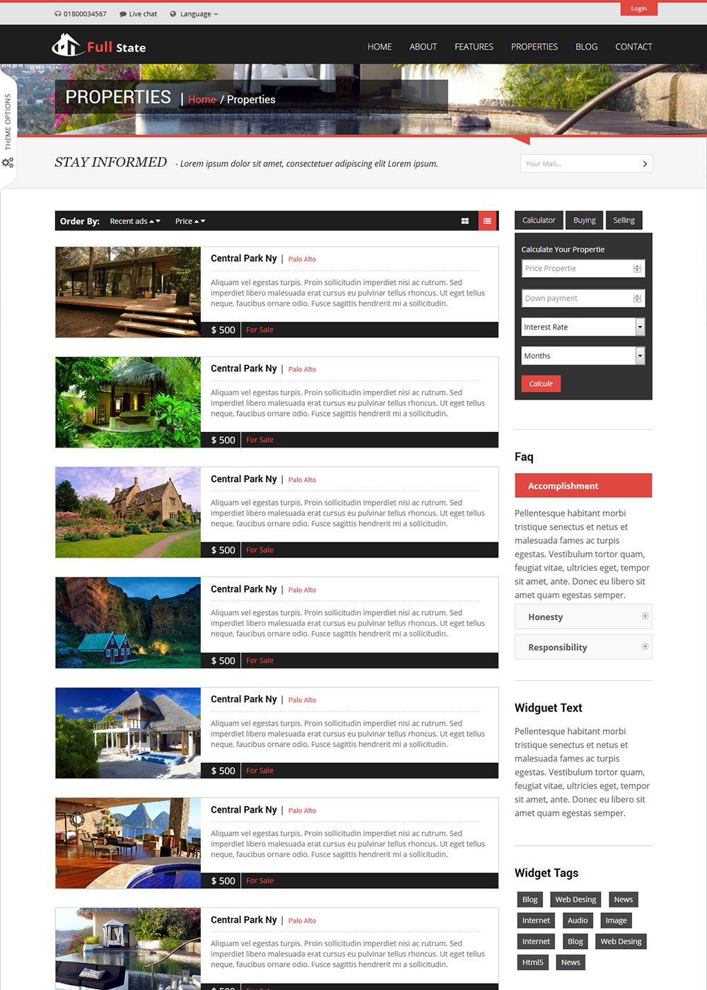 Web Site Template 44
