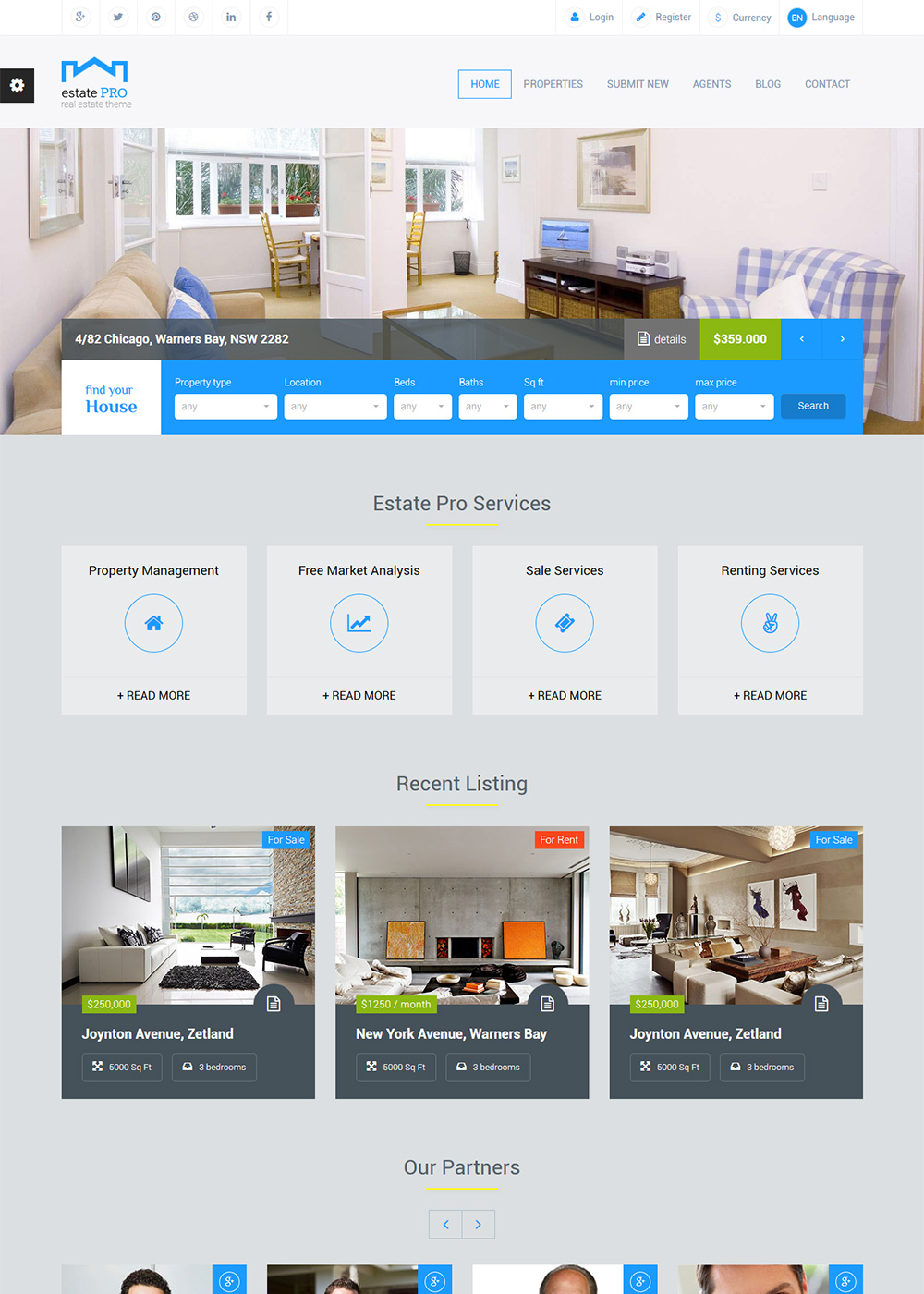 Web Site Template 47