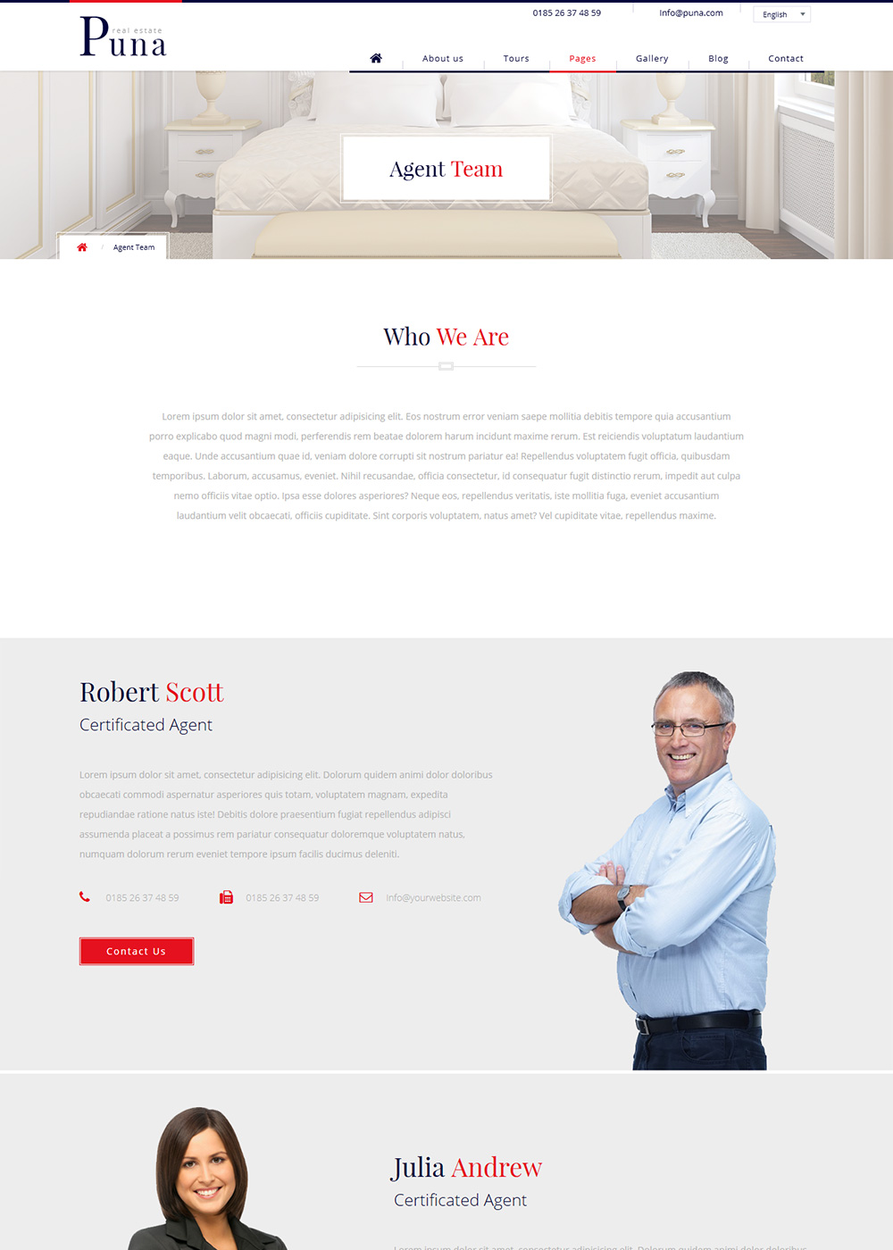 Web Site Template 48