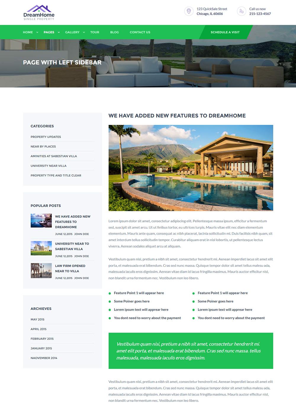 Web Site Template 49