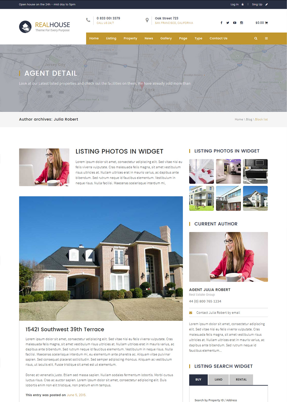 Web Site Template 50