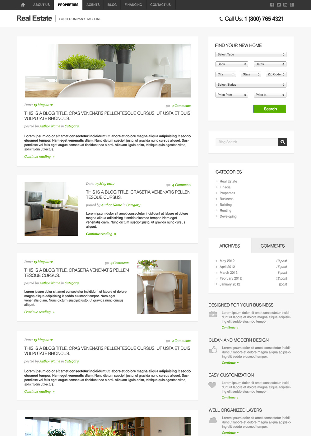 Web Site Template 51