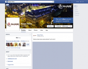Modele design pagini social media 6