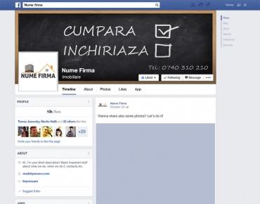 Modele design pagini social media 9