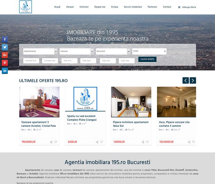 195 Imobiliare - agentie imobiliara Bucuresti