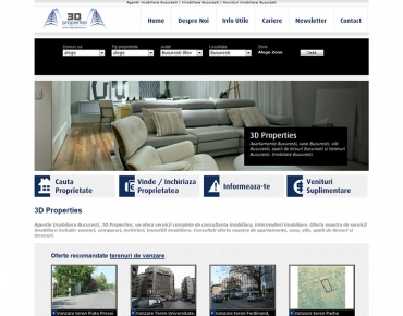 3D Properties - agentie imobiliara Bucuresti