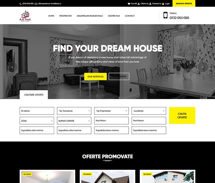 A.D Trust - Real Estate - agentie imobiliara Bucuresti