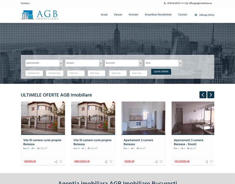 AGB Imobiliare - agentie imobiliara Bucuresti
