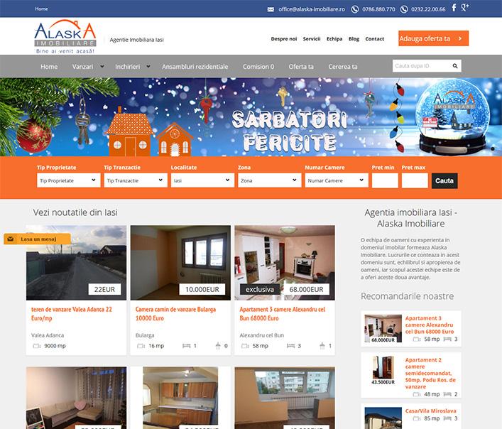 Alaska Imobiliare - agentie imobiliara Iasi