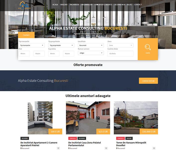 Alpha Estate Consulting - agentie imobiliara Bucuresti
