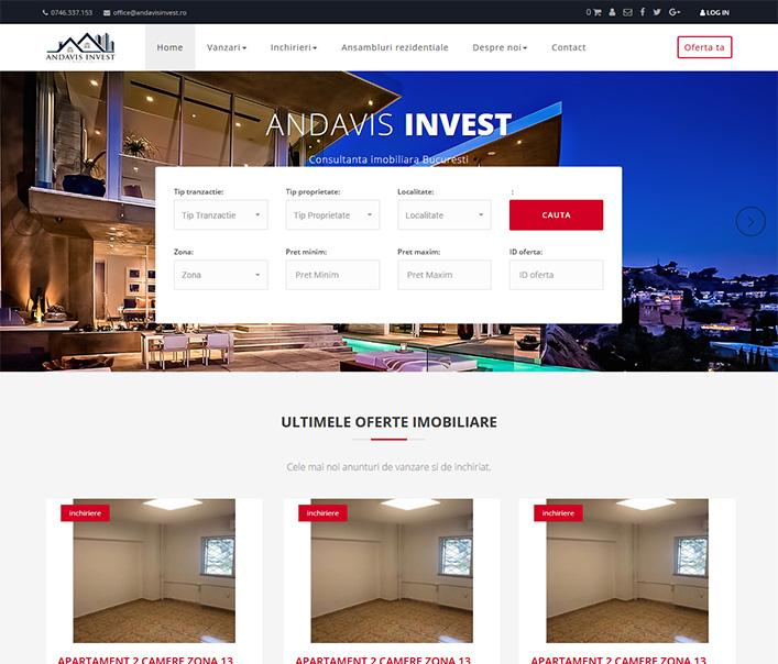 Andavis Invest - agentie imobiliara Bucuresti