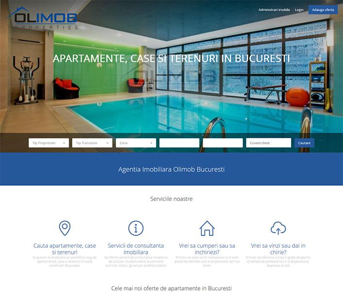 Website de nisa - apartamente, case si terenuri Bucuresti
