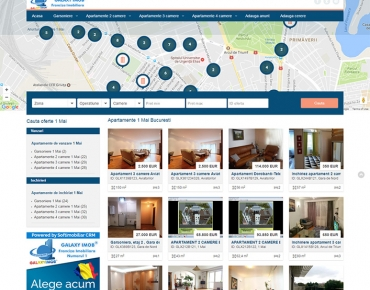Website de nisa - apartamente si vile in zona 1 Mai Bucuresti