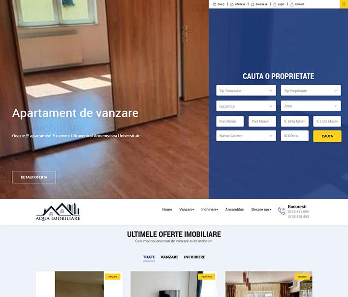 Aqua Imobiliare - agentie imobiliara Bucuresti