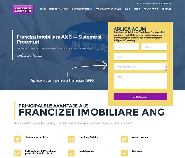Asset Natural Ground (ANG) - franciza imobiliara Bucuresti