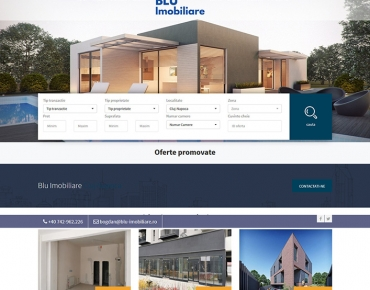 Blu Imobiliare - agentie imobiliara Cluj Napoca