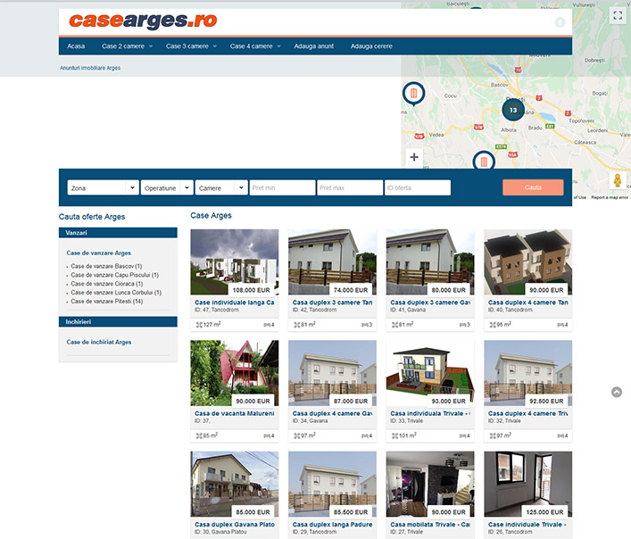 Website de nisa- case Arges