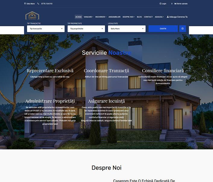 Caserom Real Estates - agentie imobiliara Satu Mare