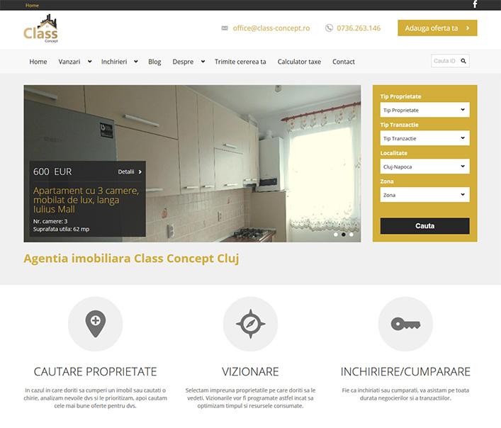 Class Concept - agentie imobiliara Cluj Napoca