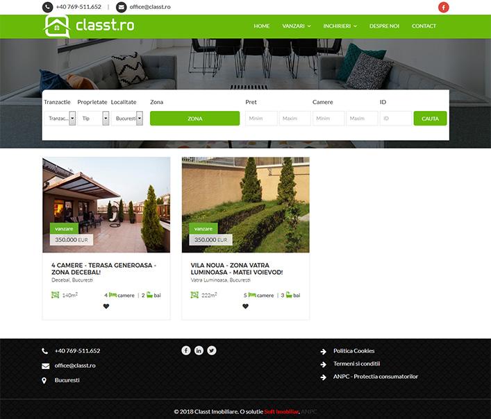 Classt Imobiliare - agentie imobiliara Bucuresti