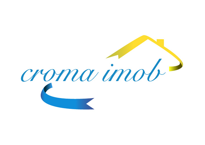 Design logo agentie imobiliara - Croma Imob - Ploiesti